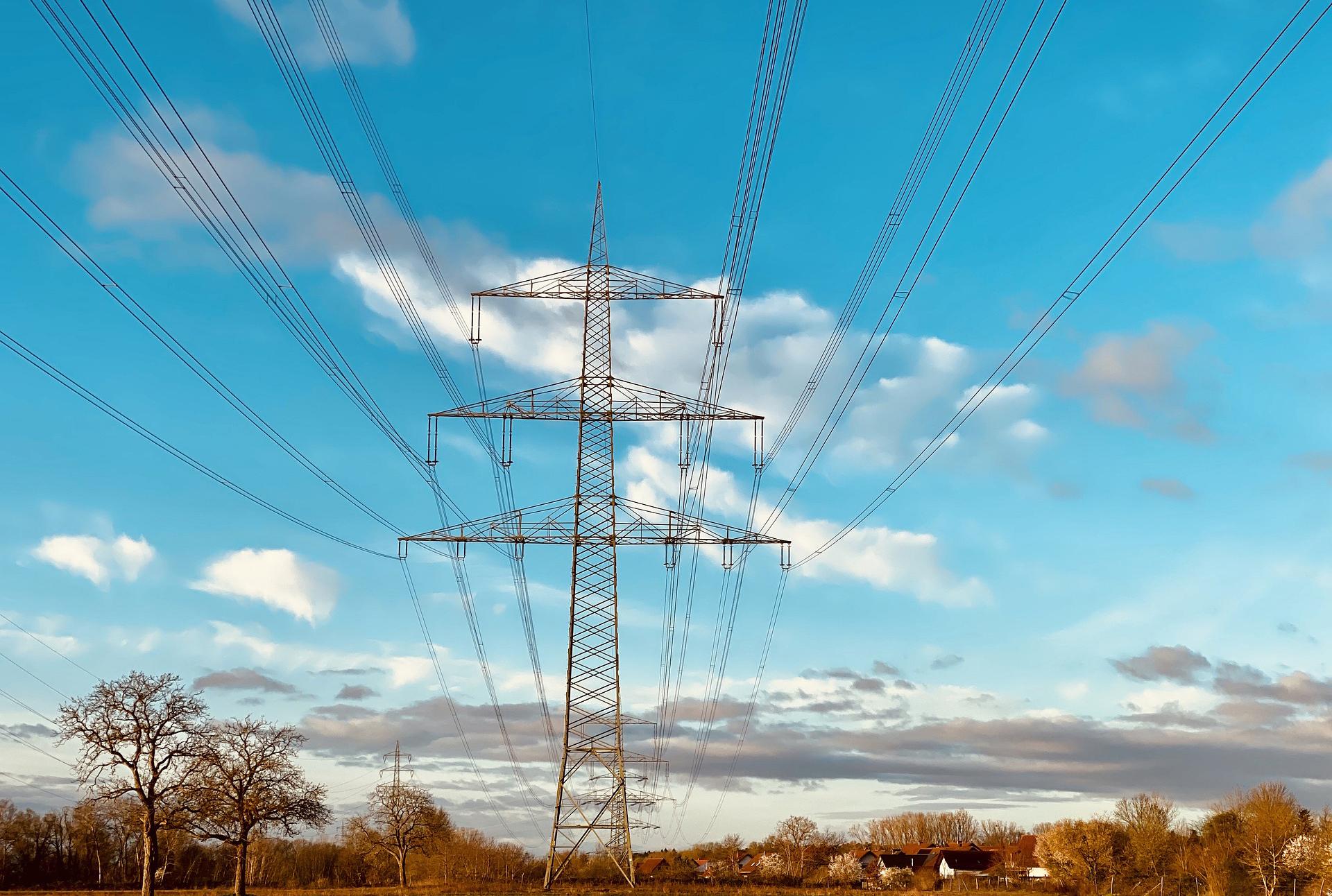 Energi - högspänningstransmission